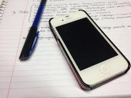 pen paper phone